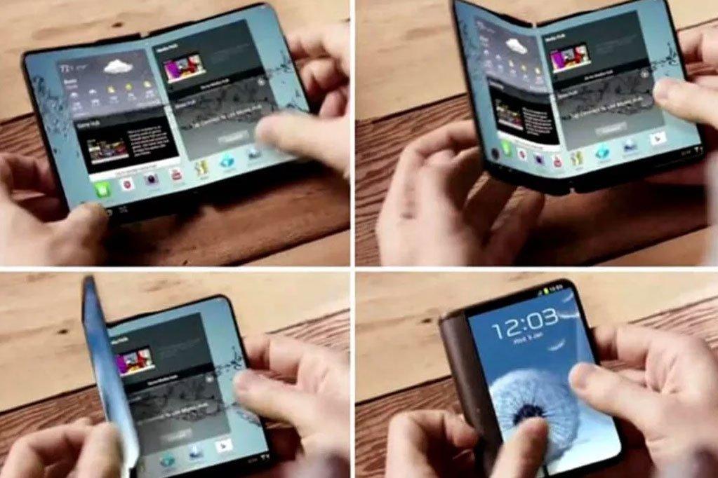 گوشی انعطافپذیر سامسونگ احتمالا شبیه گوشیهای تاشو خواهد بود