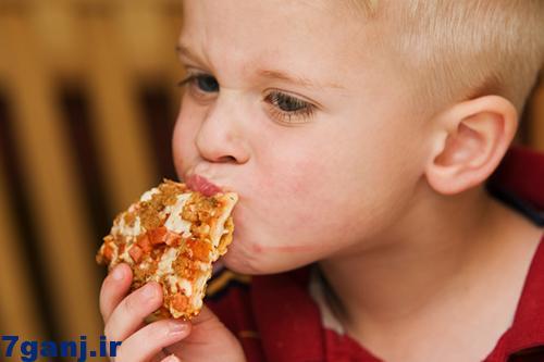 رابطه خوردن پیتزا و تیپ شخصیتی افراد