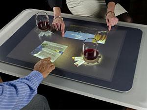 میز لمسی هوشمند VIP مناسب رستورانها، مراکز آموزشی و تفریحی، مهندسین و طراحان و …