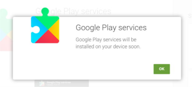 حل مشکل خطای گوگل پلی سرویس خدمات گوگل پلی تلگرام