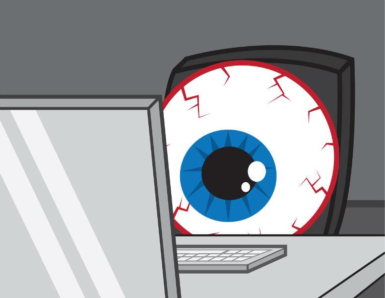 آیا عینک مخصوص کامپیوتر به چشمان شما کمک میکند؟
