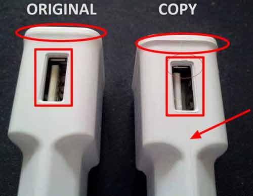 10 تفاوت شارژر و کابل شارژ تقلبی و اصل سامسونگ