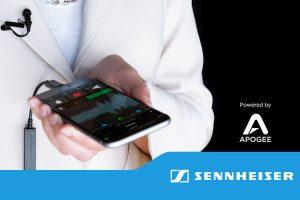 هدست Ambeo سنهایزر مجهز به فناوری شرکت Apogee و ضبط صدای سه بعدی است