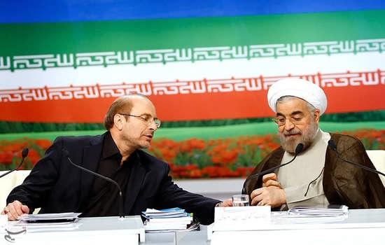 درگیری لفظی دو کاندید ریاست جمهوری در مناظره 96 قالیباف و روحانی مناظره اول