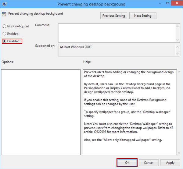 Cannot Change Desktop Background on Windows 10-What to Do
