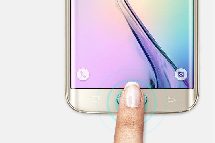 حسگر اثر انگشت یکپارچه در گوشی های هوشمند