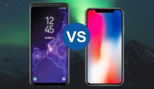 مقایسه s9 با x