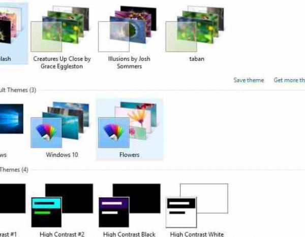 مشکل تنظیم بکگراند در ویندوز ۱۰ desktop background